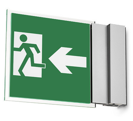 Wall Mounted Exit Lights : Escapezone